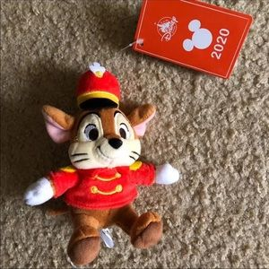 Japan Disney Store Timothy Mouse Keychain